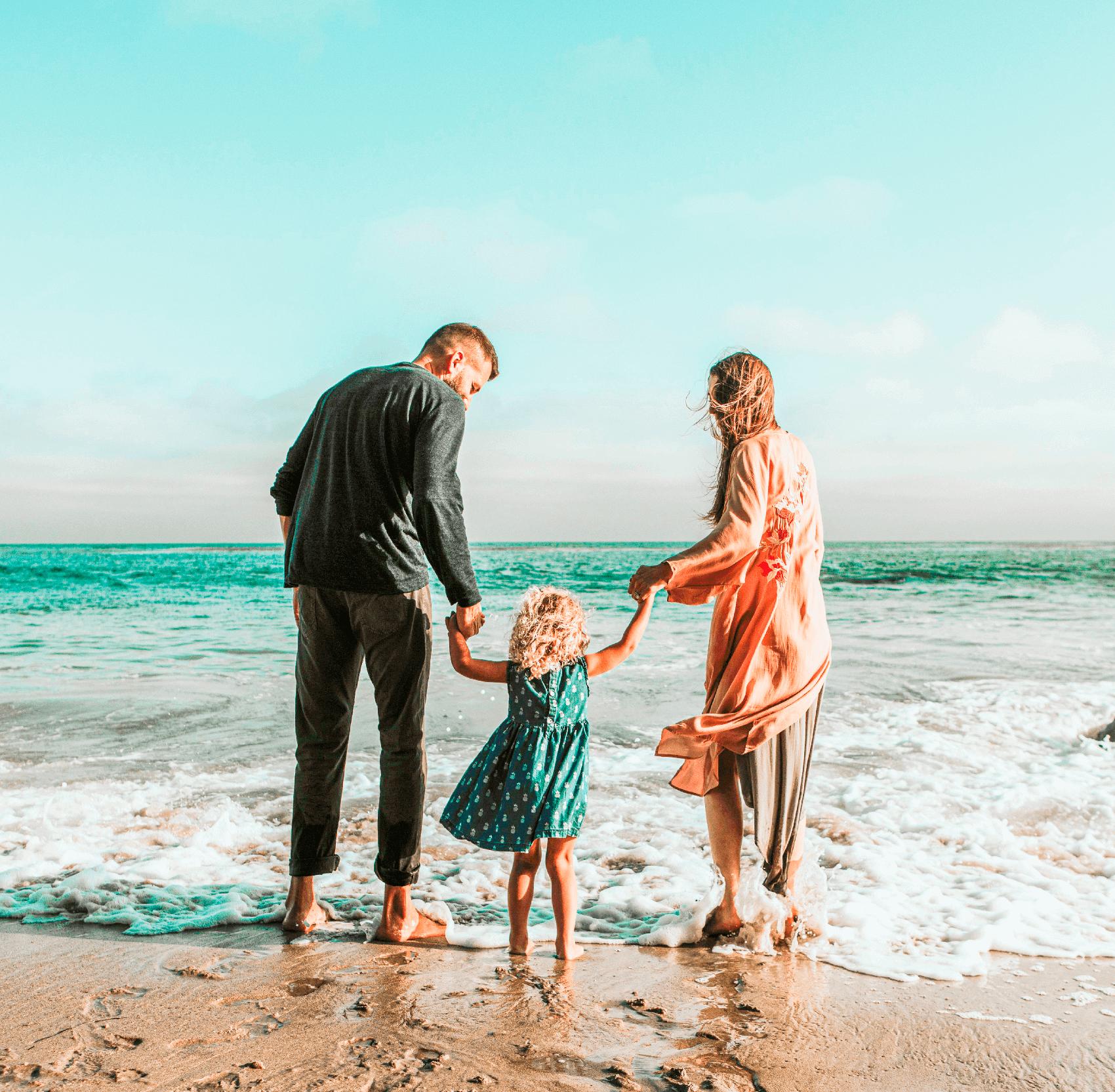 FAMILIA NA PRAIA 1
